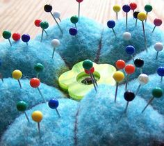 Felted Knitting PATTERN   A Felted Pin Cushion by PippsPurses, $3.25