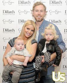 Jessica Simpson & Family