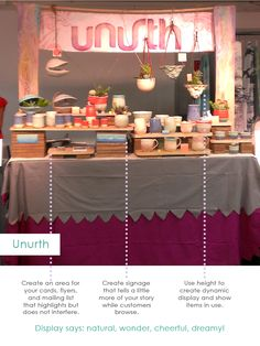 Unurth Home, Booth strategy, booth design for creative entrepreneurs