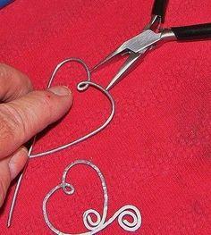 hammered wire jewelry