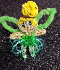 Tinkerbell Rainbow Loom