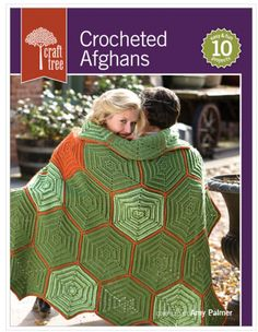 crochet afghan book
