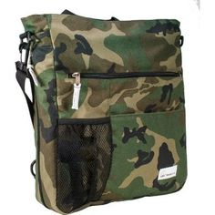 Amy Michelle Lexington Diaper Bag, Camo.