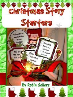 Christmas Story Starters - December Writing Prompts for Common Core Narratives product from Sweet-Tea-Classroom on TeachersNotebook.com