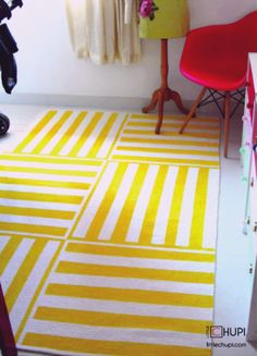 Little Chupi: 30 great DIY rug tutorials-I thought you might be interested in this Molly