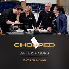 Watch a new #Chopped After Hours as Scott, Geoffrey and Amanda cook with the same ingredients as in tonight's show.