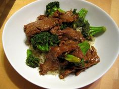 pioneer woman's beef & broccoli