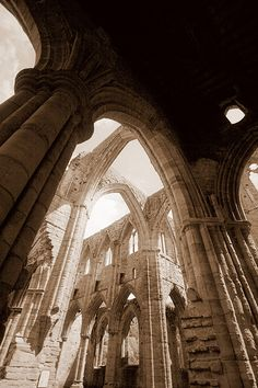 Tintern Abbey, Wales, UK.