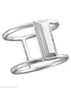 In Vogue Ring, Rings - Silpada Designs