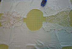 Doily T-Shirt DIY | Tasha Delrae