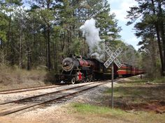 Take a trip back in time down in Rusk Texas with the Texas State Railroad.  Awesome little ride with lots of history.