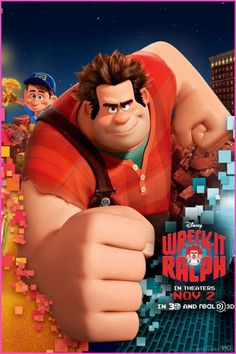 "Walt Disney Pictures ""Wreck-It Ralph"" Poster"