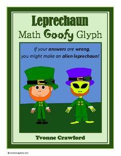 Leprechaun Math Goofy Glyph