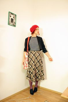 Ramaida. Wardrobe remix. Patterns  beret.