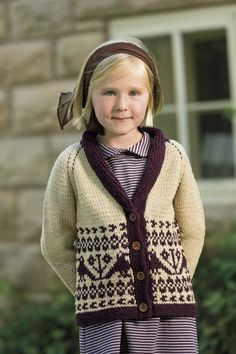 Cardigan Pattern by Tanis Gray, for Interweave Holiday 2011, knit in Spud and Chloe Sweater.
