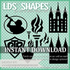 LDS, Young Women, CTR & Temple Shapes