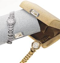 Sparkling Watch with Convertible Jewelry Clutch
