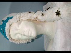 #Crochet - winter princess hat (video3-final) - YouTube