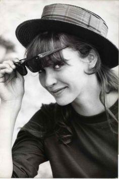 anna karina, girl, ana karina, beauti peopl, 60s, style icon, actress, hair, hat