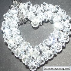 Heart- Bead Jewelry Making - Valentine Special