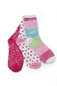 Girls Lilly and Lulu Socks (available only in stores) Click image to see weekly ad  #MeijerKidsLooks #BackToSchool