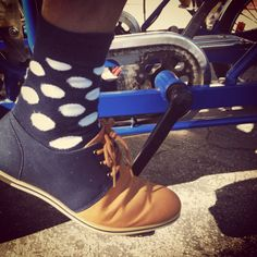 Putting polka dot to the pedal