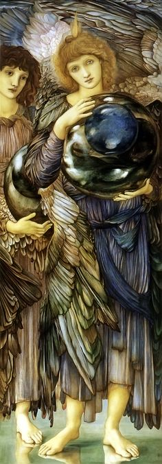 Edward Burne-Jones - 2nd Day of Creation