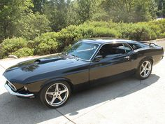 Muscle Cars… 1969 Ford Mustang Fastback