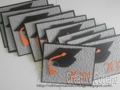 happy graduation cricut cartridge | got this simple idea from My Pink Stamper, she did a video on this ...