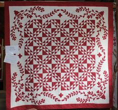 Two color quilts so graphic!