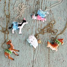 Party animal necklaces