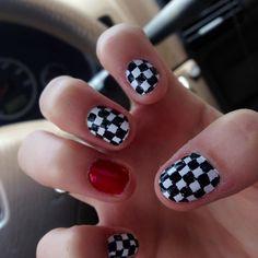 Racin' nails