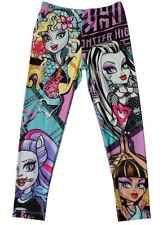 Monster High Girls  Leggings Pants NEW Size 7/8