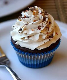 Mexican Hot Chocolate Cupcakes - @Christie Walsh
