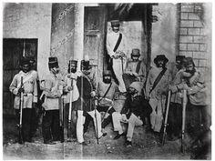 Photograph. Beato, Felice. Lucknow, India. Albumen photographic print. © Victoria and Albert Museum, London