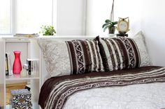 Margaret Full Size Bedding Set in Chocolate Brown by MBhomedecor, $54.90