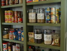 How to have a Pretty Pantry