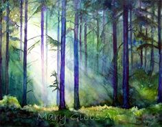 mary gibb this painting soothes me.
