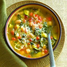 Healthy Harvest Soups from @Sunset magazine
