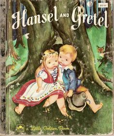 <3 The 'Hansel and Gretel' Little Golden book
