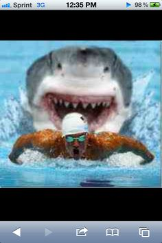 One way to swim your laps faster...