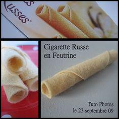 Cigarettes Russes (easy no-sew!)