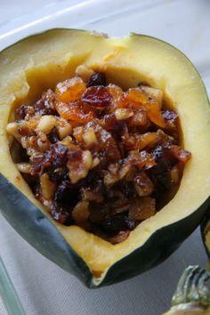 Prettiest Acorn Squash for Thanksgiving