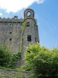 Blarney Castle in Ireland...if you kiss it you will have good luck!! :)