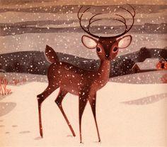 christmas cards, vintage books, vintage christmas, lowel hess, christma treasuri, book collection, winter scenes, vintage book covers, illustr