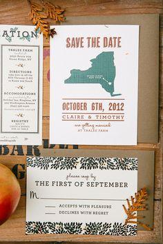 state wedding invitations, photo by Lev Kuperman http://ruffledblog.com/hudson-valley-wedding #weddinginvitations #geography #stationery galleries, weddings, farms, wedding invitations, hudson valley, york, stones, lev kuperman, invit hudson