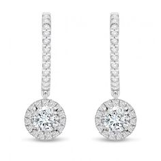 Gemesis Divine #Drops #Diamond #Earrings. Setting Price: $1,678.80.
