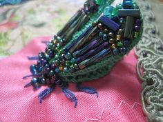 !Beetles In Stumpwork with Arlene White