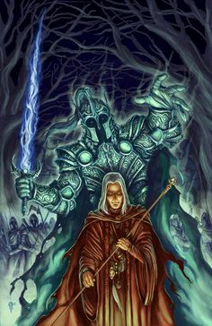 Raistlin from Dragonlance