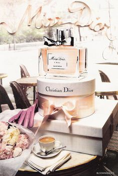 miss dior cherie my favorite perfume scent in the entire world ... makes me think of Chicago and feeling beautiful! ha!